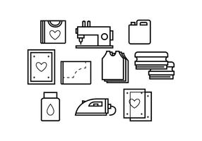 Free Screen Printing Line Icon Vector