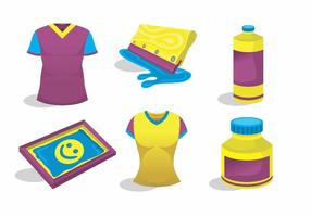 Screen Printing Vector Pack