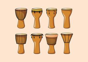 Djembe Element Vektor