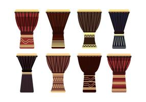 Djembe Vector Set