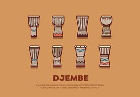 Free Djembe Vector