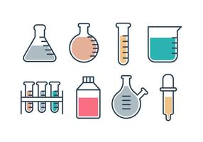 Gratis Erlenmeyer Fask Vector Collection