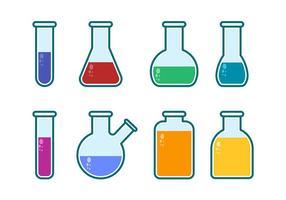 Becher und Flasche Icon Vektoren