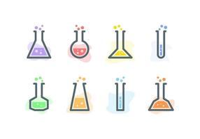 Free Outstanding Flask Vectors