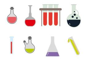 Free Beaker and Flask Vectors