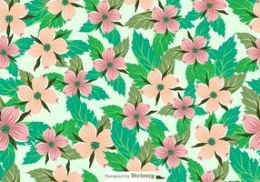 Vector Seamless Dogwood Flowers