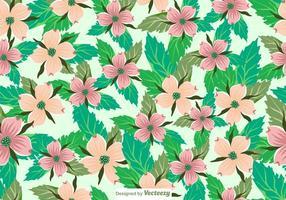 Vector Seamless Dogwood Flowers