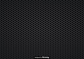Vector Seamless Pattern Of A Black Speaker Grill
