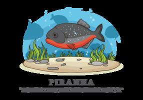 Piranha Vector Illustration