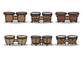 bongo vector set