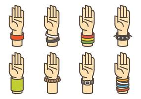 Wristband Vector Pictogrammen