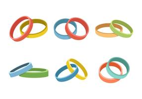 Wristband Collection Vector Illustration