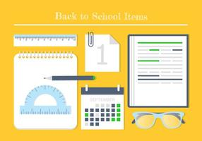 Free Back To School Vector Elements And Icons