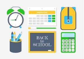 Free Back To School Vektor-Elemente und Icons