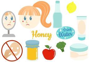 Free Anti Acne Vectors