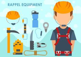 Set Of Rappel Equipment