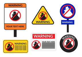 Neighborhood Watch Board Sign Vector