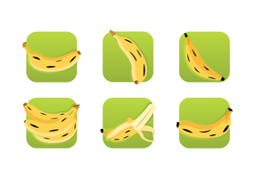 Plantain Icons Free Vector Pack