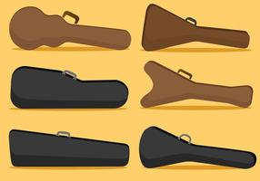 gitaar case vector pack