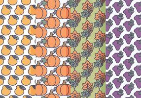 Vector Set von Fall Patterns