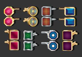 Cufflink Vector Collection