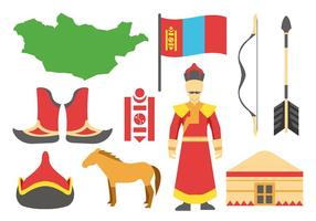 Free Mongolian Icons Vector