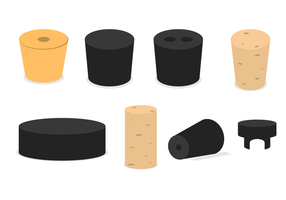 Bottle Stopper Vectors