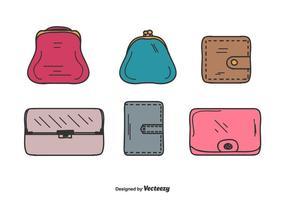 Wallet Vector Set