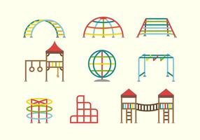 Jungle Gym Vectors