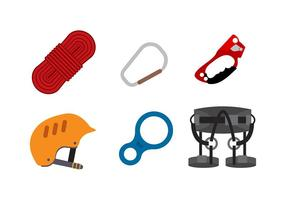 Rappel Equipment Free Vector