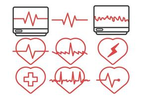 Vector Heart Pack Rhythm Icon