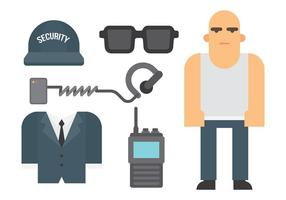 Bouncer Vector Icons
