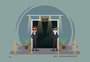 Free Bouncer Illustration