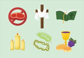 Lent Vector Illustration