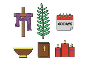 Lent vector set
