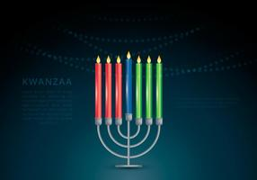 Kwanzaa Illustration Vector Background
