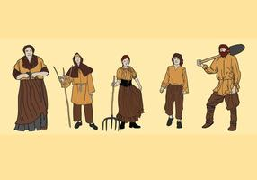 Peasant Vector Pack