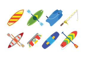 Water sport related set icons