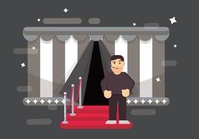 Gratis Bouncer Vector