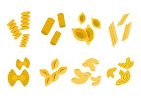 vecteur d'icônes de macaroni gratuit