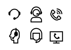 Call Center Icon Vektor