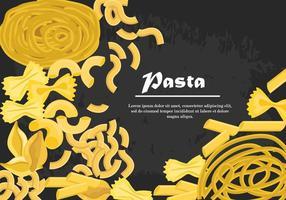 Set av pasta vektor