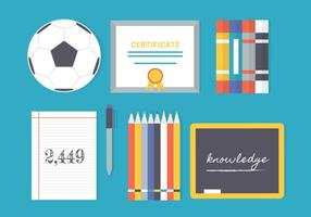 Free Flat Education Vector Elements