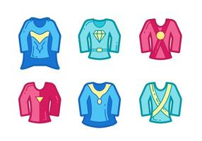 Free Powerful Super Heroes Vector