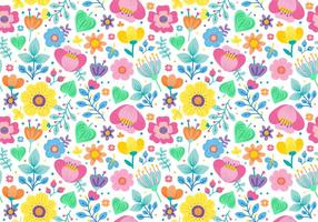 Cute Seamless Ditsy Floral Pattern
