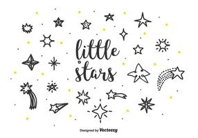 Little Stars Vector Set