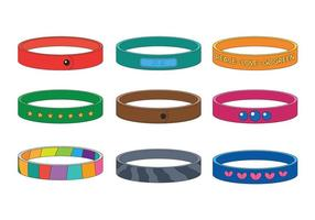 Wristband vector set