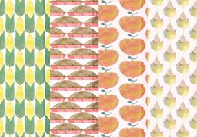 Vector Set Fall Patterns