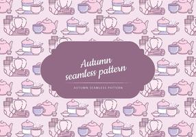 Vector Cute Autumn Pattern