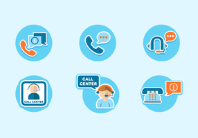 Call Center Gratis Vector Pack